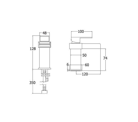 Technical drawing QS-V43142 / SPA113