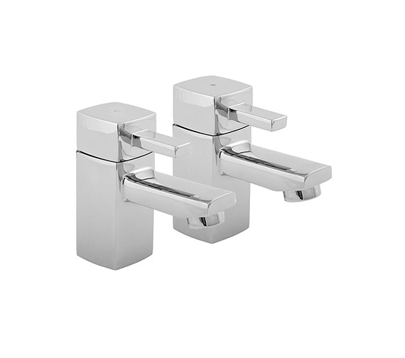 Deva Rubic Bath Taps Chrome - RUB102