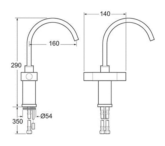 Technical drawing QS-V43214 / EDGE104