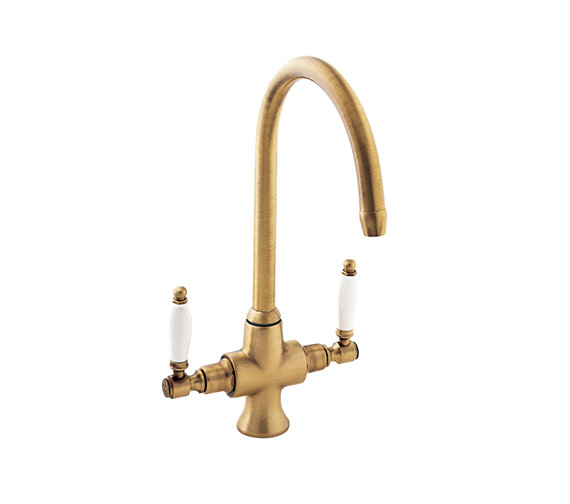 Deva Georgian Mono Sink Mixer Tap Bronze - SM056-BZ