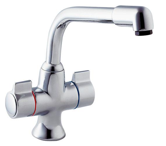 Deva Sauris Mono Kitchen Sink Mixer Tap Chrome - SMS172