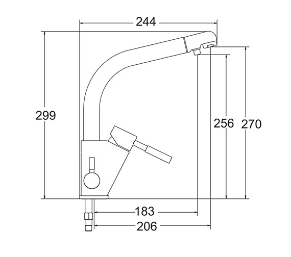 Technical drawing QS-V43235 / WFMS001