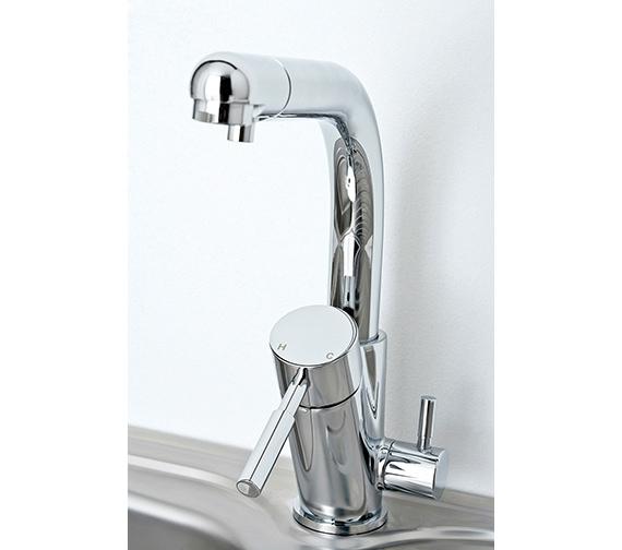 Deva Str3am Water Filter Kitchen Sink Mixer Tap - WFMS001