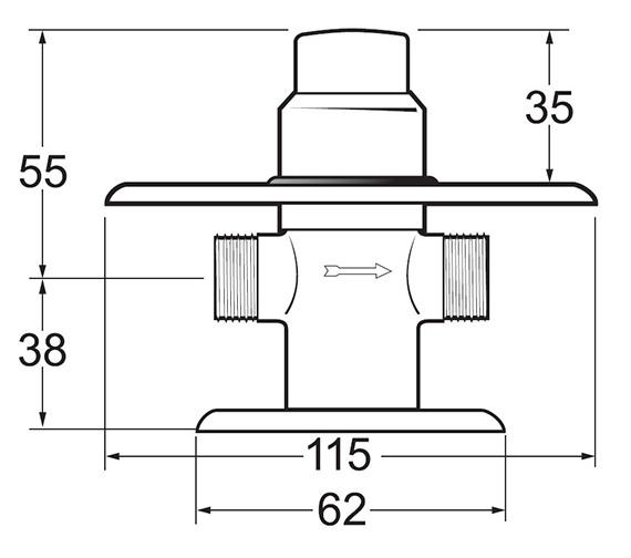 Technical drawing QS-V43264 / NCT003
