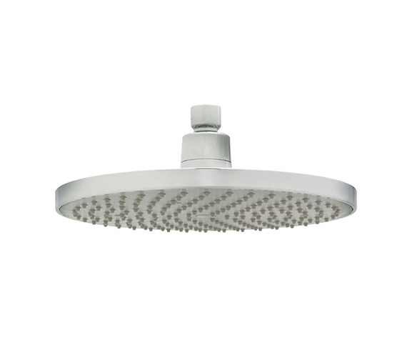Deva 8 Inch Round Fixed Shower Head With Swivel Joint - HEAH05
