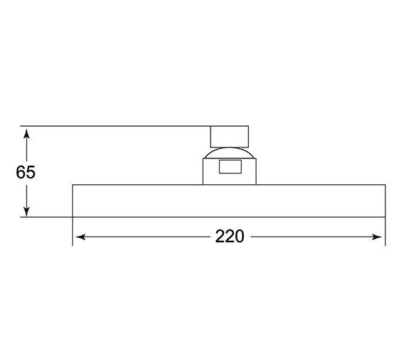 Technical drawing QS-V43279 / HEAH05