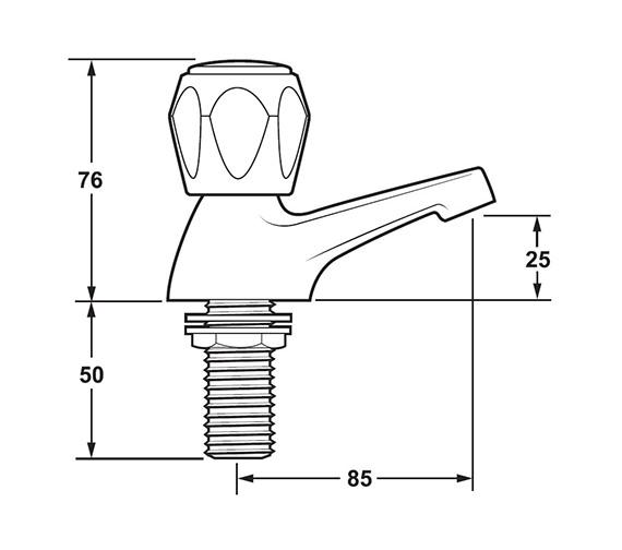 Technical drawing QS-V43283 / DCM102