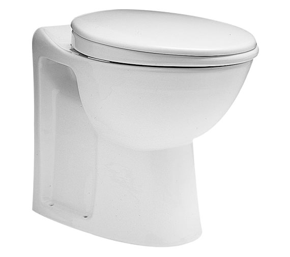 Twyford Avalon Back-To-Wall WC Pan 560mm - AV1168WH