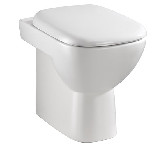Twyford Moda Back To Wall WC Pan 509mm - MD1438WH
