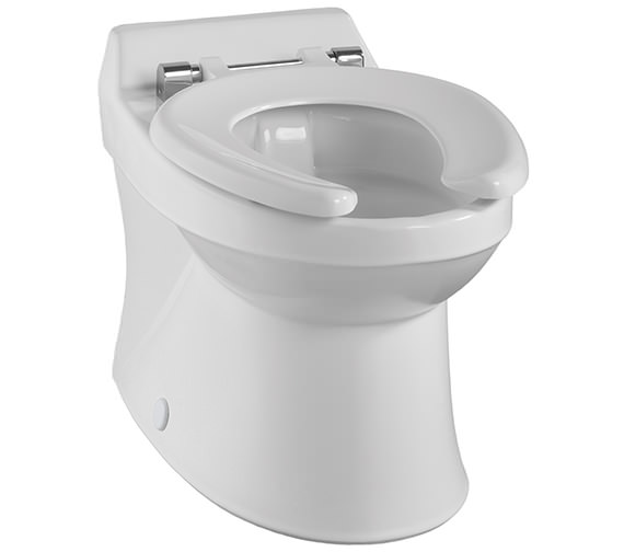 Twyford Sola School Rimless 300 Back-To-Wall WC Pan - SA1512WH