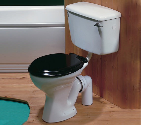 twyford classic low level wc pan with horizontal outlet
