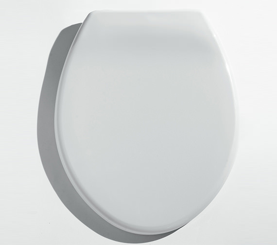 Alternate image of Twyford Option Toilet Seat And Cover - With Option Of Plastic Or Stainless Steel Hinges