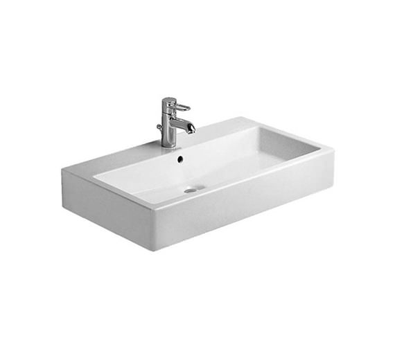 Duravit Vero White 700mm 1 Tap Hole Grinded Washbasin - 0454700027