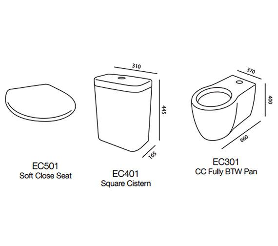 Technical drawing QS-V43862 / EC301