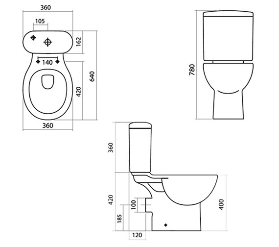 Technical drawing QS-V43886 / EC001