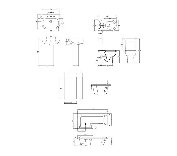 Technical drawing QS-V43888 / EBS001