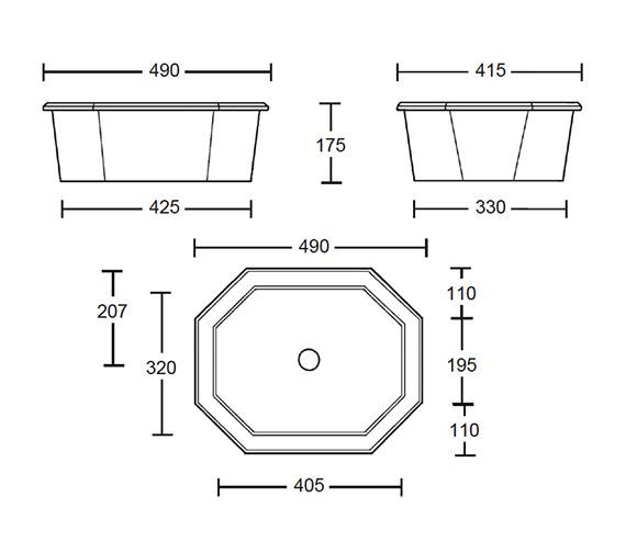 Technical drawing QS-V44003 / AS1IB01030