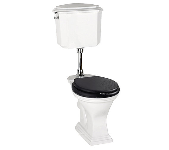 Imperial Astoria Deco Round Bowl WC Pan And Low Level Cistern