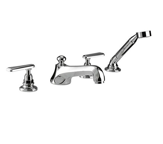 Imperial Poulie 4 Hole Bath Filler Tap With Hand Set - ZXT6054100