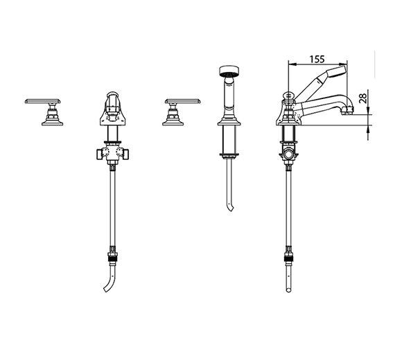 Technical drawing QS-V44016 / ZXT6054100