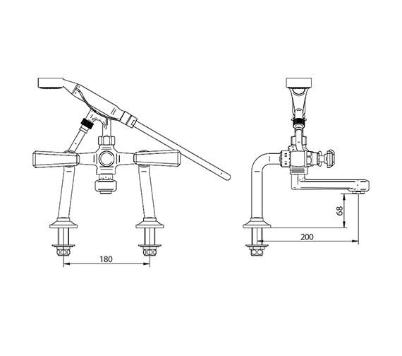 Technical drawing QS-V44017 / ZXT6055100