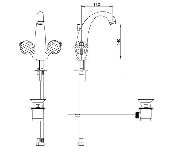 Technical drawing QS-V44023 / ZXT6033100