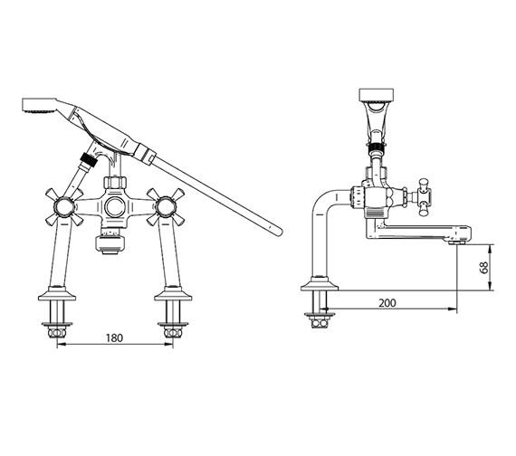 Technical drawing QS-V44027 / ZXT6W13100