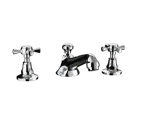 Imperial Cou 3 Hole Basin Mixer Tap - ZXT6011100