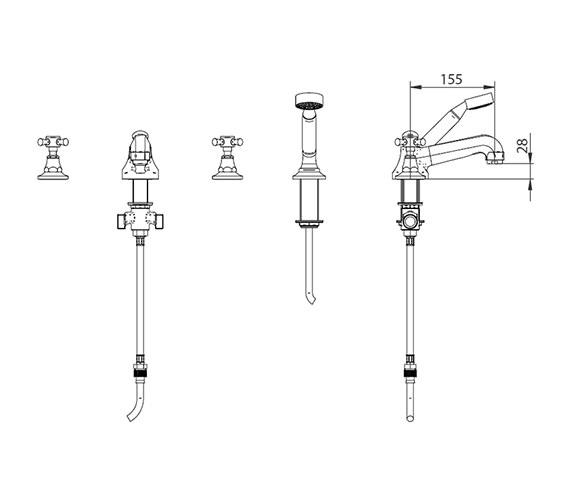 Technical drawing QS-V44030 / ZXT6012100