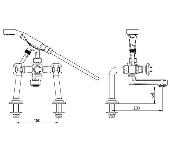 Technical drawing QS-V44032 / ZXT6045100