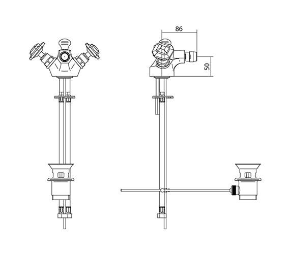 Technical drawing QS-V44035 / ZXT6048100