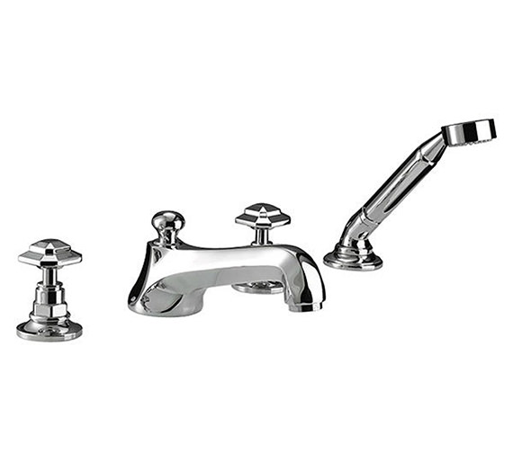 Imperial Niveau 4 Hole Bath Filler Tap And Handset Kit