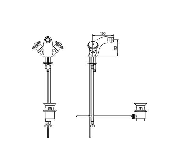 Technical drawing QS-V44043 / ZXT6022100