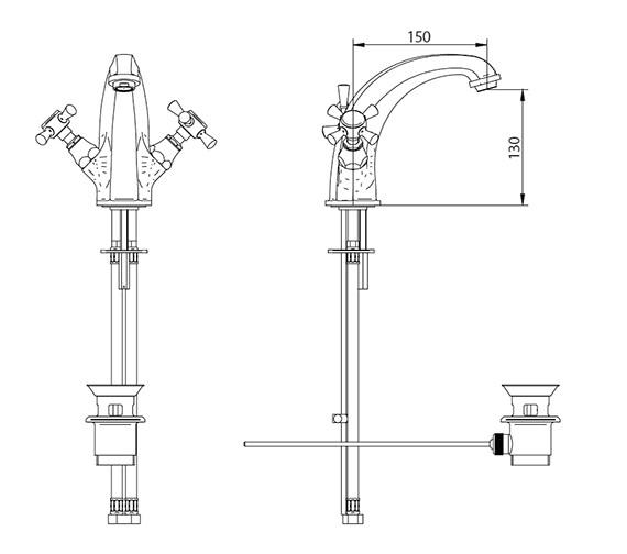 Technical drawing QS-V44046 / ZXT6027100