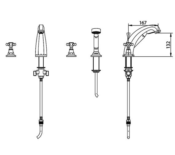 Technical drawing QS-V44048 / ZXT6024100