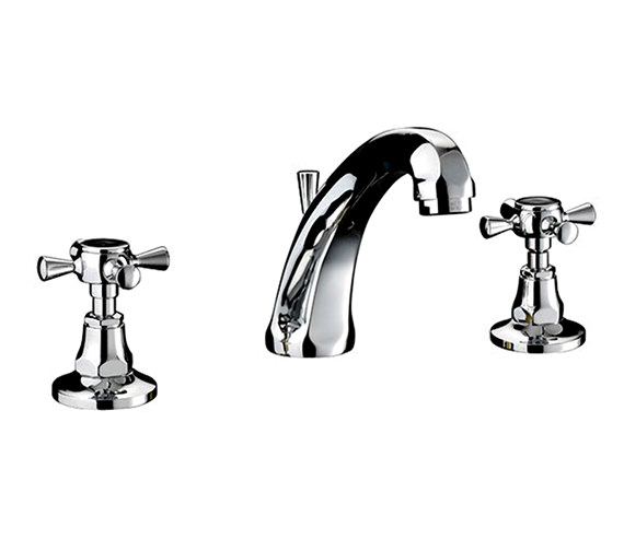 Imperial Glace 3 Hole Basin Mixer Tap - ZXT6023100