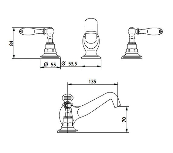 Technical drawing QS-V44050 / ZXT6049100