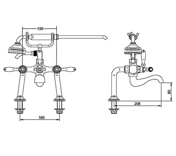 Technical drawing QS-V44052 / ZXT6051100
