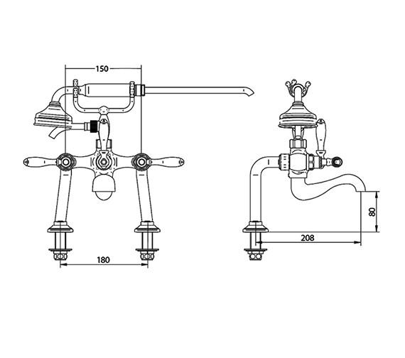 Technical drawing QS-V44055 / ZXT6059100