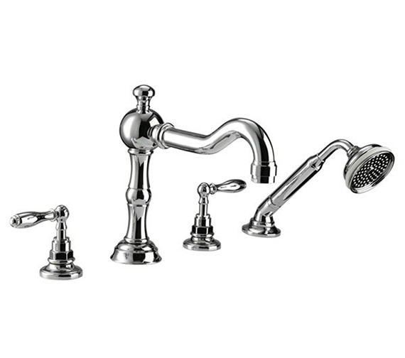 Imperial Pre 4 Hole Bath Filler Tap And Handset Kit - ZXT6058100
