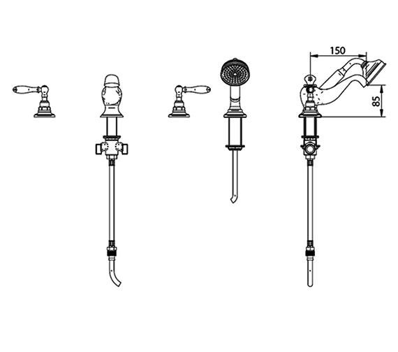 Technical drawing QS-V44059 / ZXT6063100