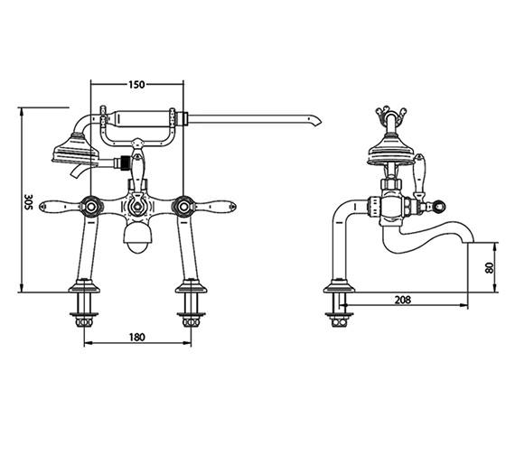 Technical drawing QS-V44060 / ZXT6064100