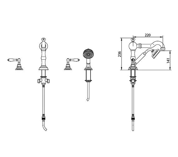 Technical drawing QS-V44063 / ZXT6002100