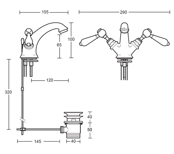 Technical drawing QS-V44085 / ZXR6100100