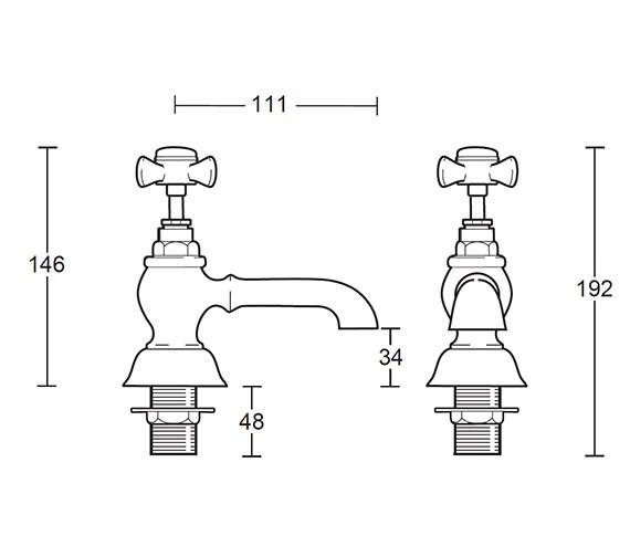 Technical drawing QS-V44105 / ZEDWW02100