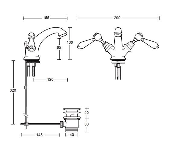 Technical drawing QS-V44109 / ZXR6810100