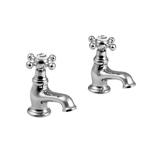 Imperial Westminster Half Inch Basin Pillar Taps - XM60010100N