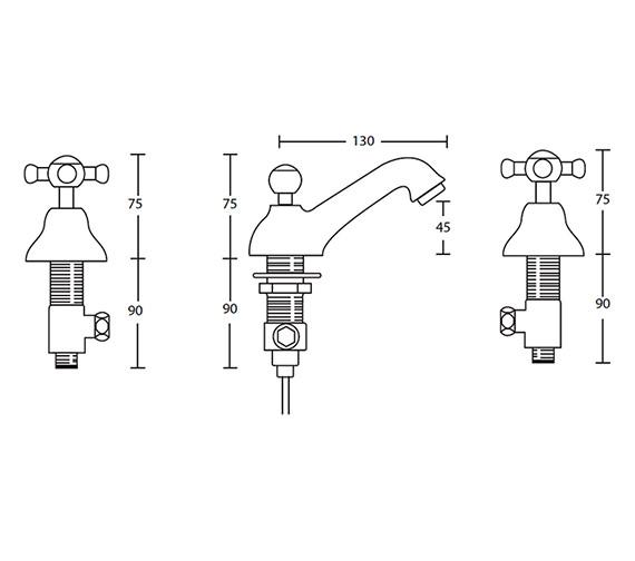 Technical drawing QS-V44125 / XM60300100N