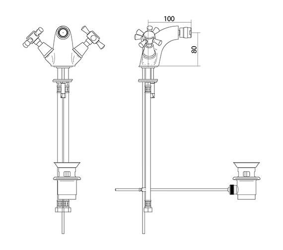 Technical drawing QS-V44135 / ZXT6010100