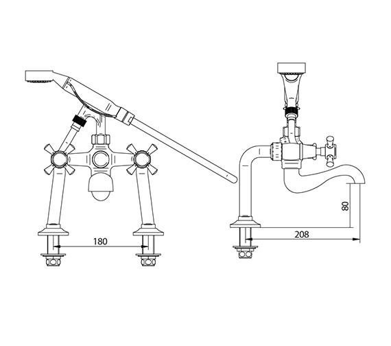 Technical drawing QS-V44137 / ZXT6007100